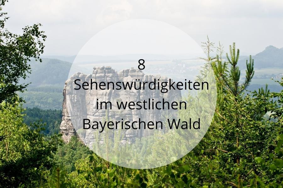 8 Sehenswürdigkeiten im westlichen Bayerischen Wal